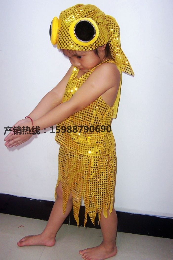 Taobao  the child performance clothing children dance costumes goldfish costume headdress goldfish animal costumes china english wholesale