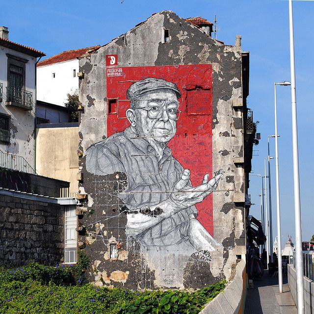 #streetart #portugal #porto #fredericodraw