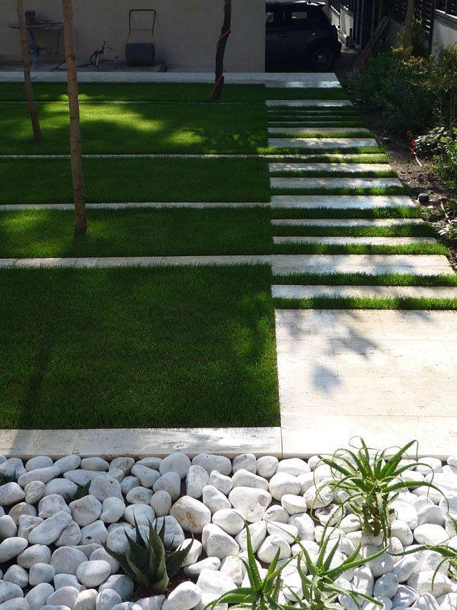 Un Jardin En Pente Douce En 2020 Jardin En Pente Jardins Jardin Contemporain