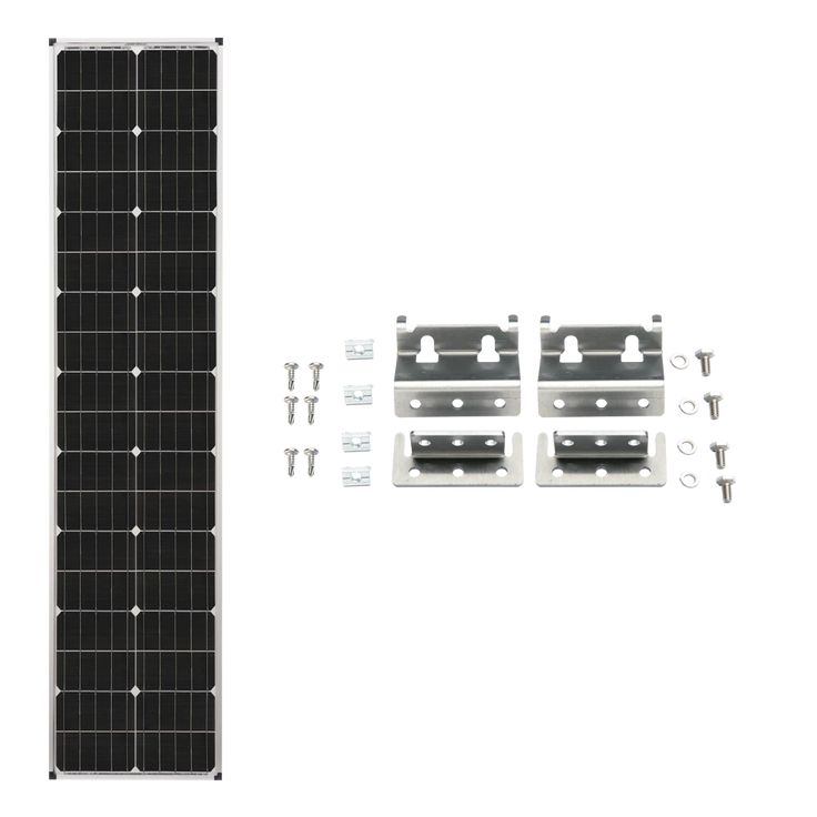 Zamp Solar 90w Deluxe Expansion Kit Long Amp Narrow Series