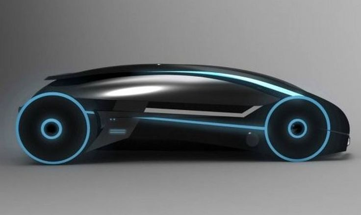 Tron Car | concept custom made car with plenty of radiant details and modeled ...