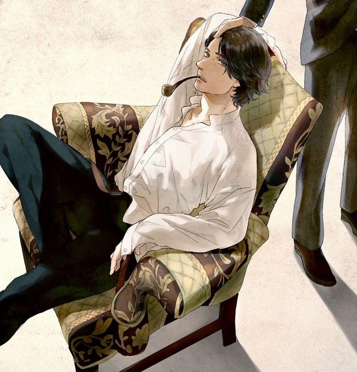 """""""Sherlock Holmes"""" by  飴"""