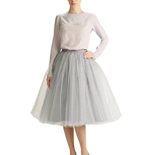 Falda midi de tul #faldas #moda #mujer #outfits  #faldamidi #faldasinvierno #style #shopping #fashion #modafemenina #faldasdetul #tul