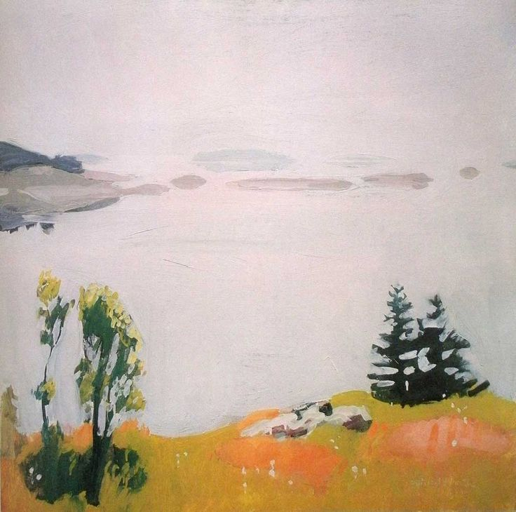 """Fairfield Porter – """"Mystery that is Essential to Reality"""""""