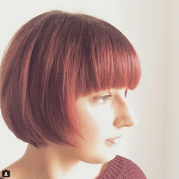 17 Best images about Adventures in Chin Length Bobs on Pinterest