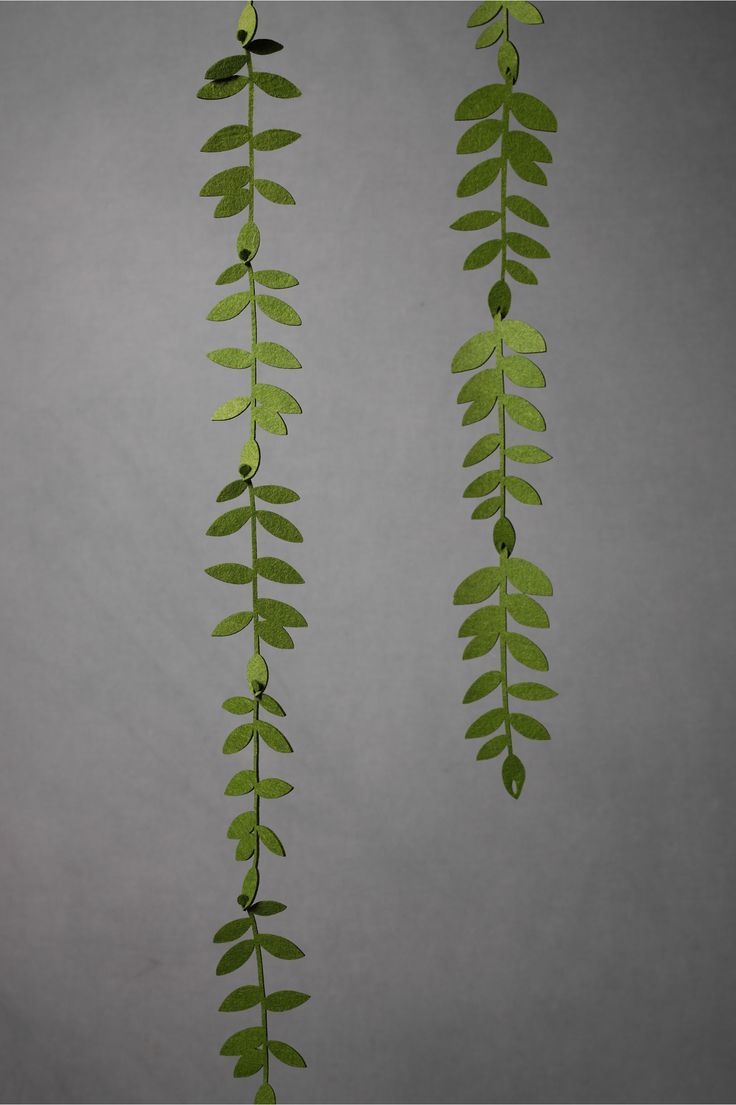 felted foliage garland // don't have time to DIY? bhldn.com has the cutest wedding decor at great prices!