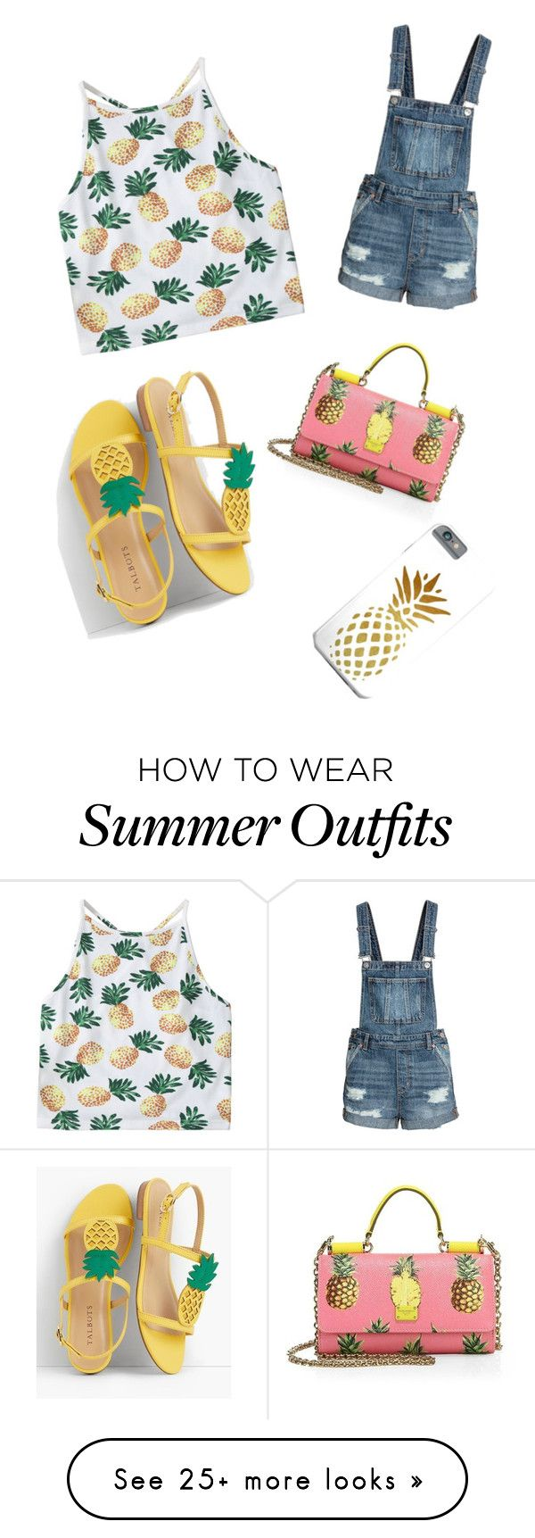 """Summer outfit"" by itszxabby on Polyvore featuring Talbots and Dolce&Gabbana"