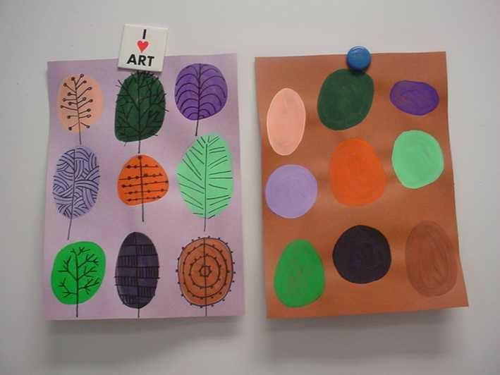 Du graphisme en automne - Les cahiers de Joséphine
