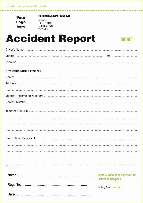 Vehicle Accident Report Form Fresh Dot Driver Vehicle Inspection