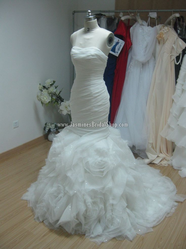 This Is A Vera Wang Gamma Knock Off Replica From Jasmine. Itu0027s $832  Compared To · Organza Wedding DressesWedding ...