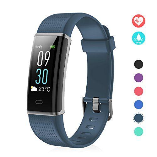 Efo Shm Fitness Tracker Mit Pulsmesser Schrittzahler Uhr Fitness Armband Wasserdicht Schwimmen Fitness Tracker Fitness Watches For Women Best Fitness Tracker