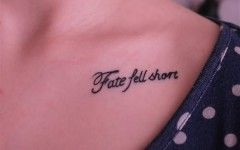 Short Family Quote Tattoo Ideas