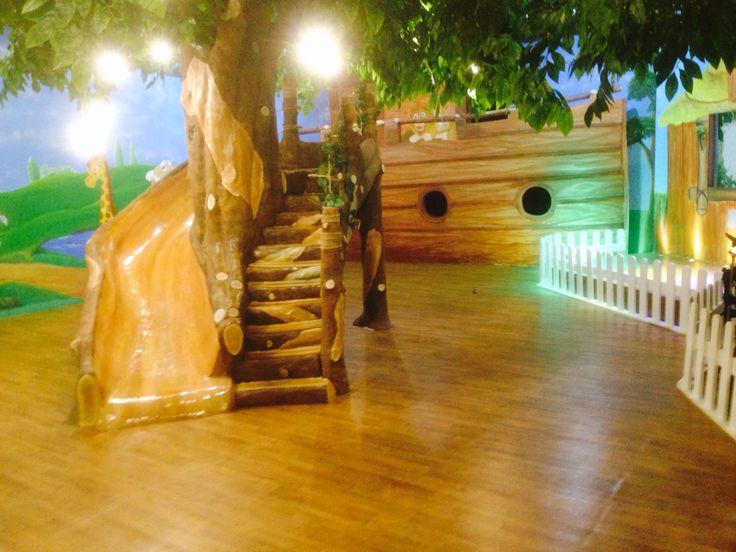 Tree slide @ LTCC kids church