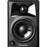 "M-Audio - 3"" 2-Way Compact Desktop Speakers (Pair) - Black"