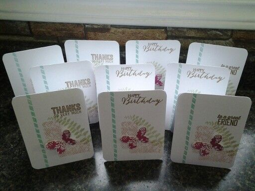 10 in 20 minutes butterfly basics stampin up