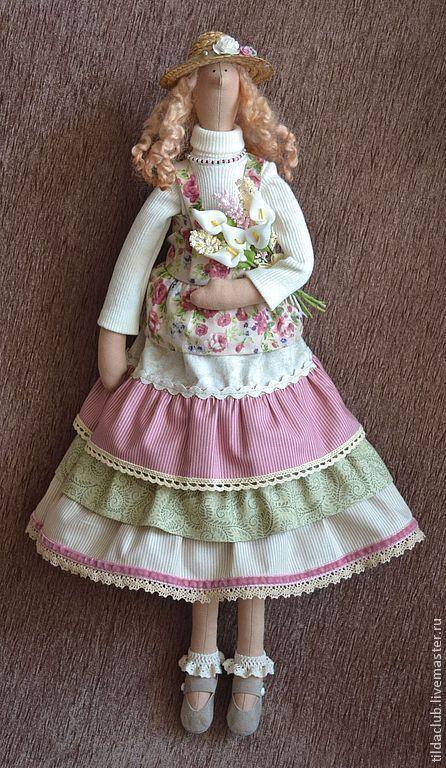 """Купить Тильда """"Весеннее настроение"""" - тильда, тильда кукла, кукла Тильда, кукла текстильная"""