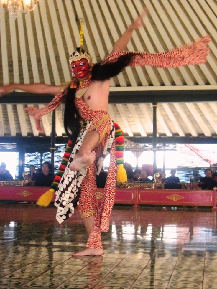 Javanese Mask Dance from Yogyakarta - Indonesia
