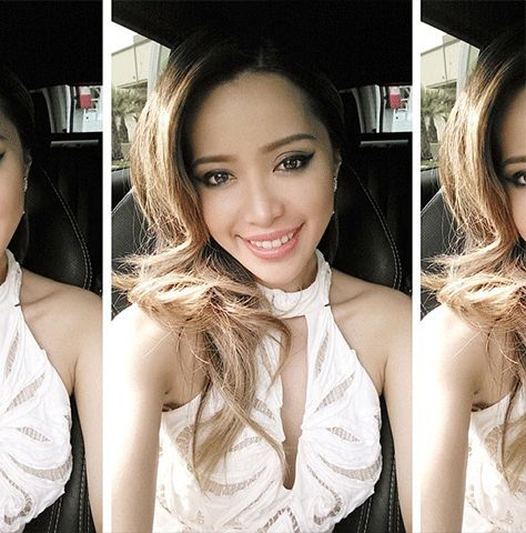 How To Take A Good Selfie: Tips from Instagram's Top Stars // @Michelle Phan  loves angles.
