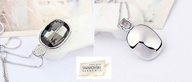 Collar con cristal Swarovski Elements