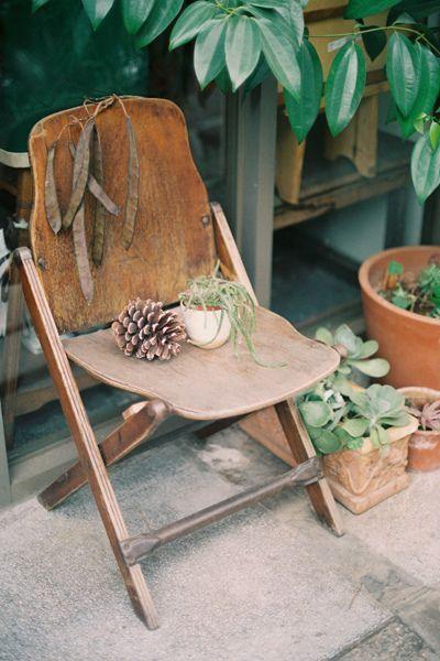 ゝ。Wood Chair