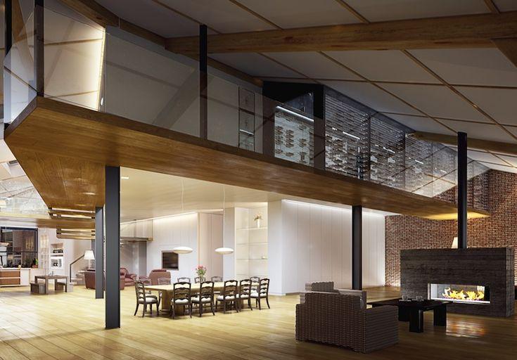 Progetti case loft cerca con google idee per la casa for Progetti per case con scantinati