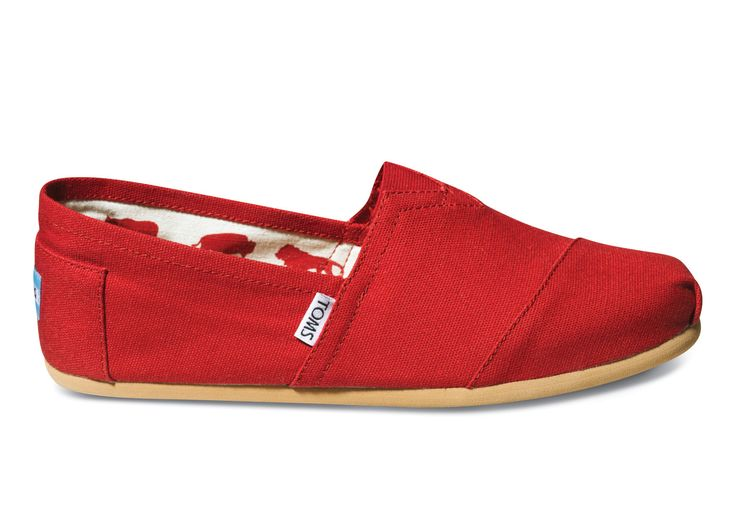 undefined Red Canvas Men's Classics