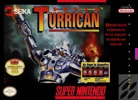 Download Super Turrican for Super Nintendo(SNES) and play Super Turrican video game on your PC, Mac, Android or iOS device!
