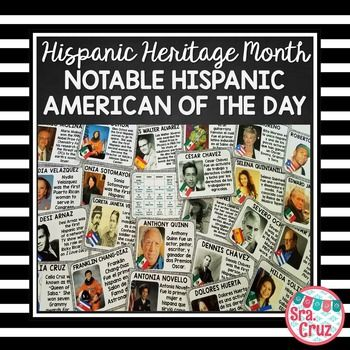 Hispanic Heritage Month:  Notable Hispanic American of the…
