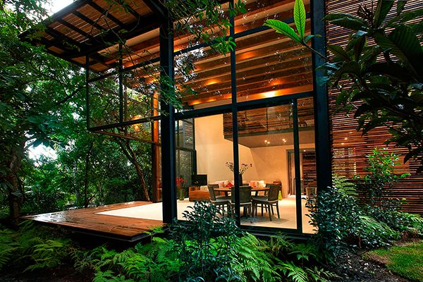 Close to nature at Chipicas Town Houses, Valle de Bravo, México,by Alejandro Sanchez Garcia Arquitectos.