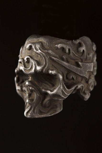 #Skull #Calavera #Ring #Anillo #Silver #Plata #925