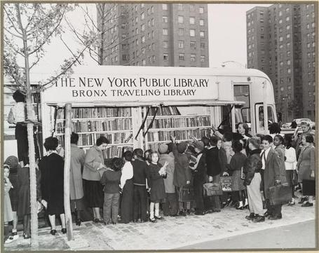 A Brief History of American Bookmobiles...in Pictures [Bookriot] |