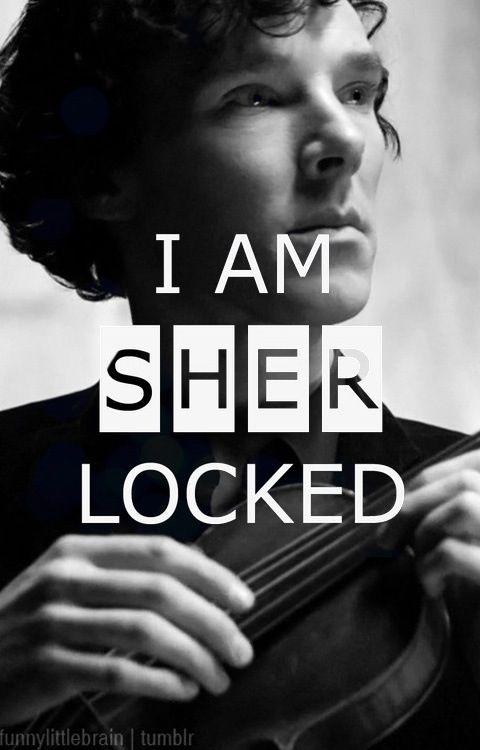 I am Sherlocked. prolly my fav pic of him