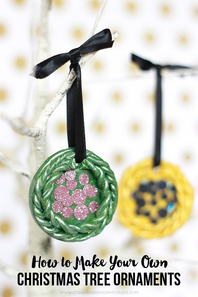 How to make your own christmas tree ornaments christmas How to make your own ornaments ideas