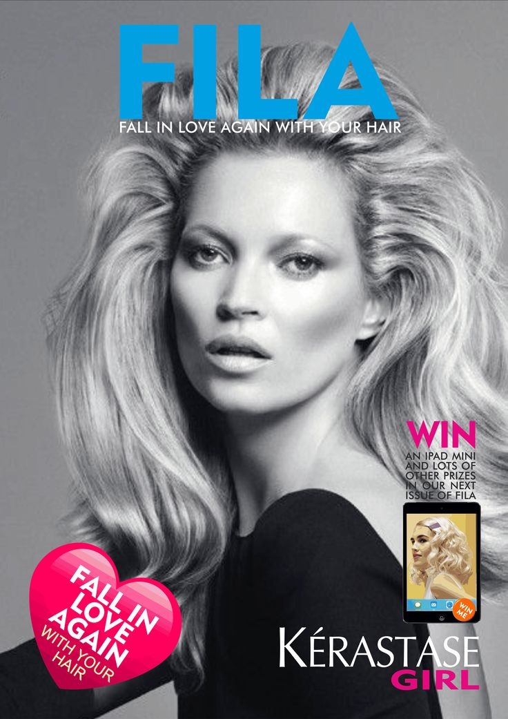 Kerastase Girl E Magazine - Beautiful Hair Styles - Fabulous Colour Trends and everything Kerastase Fall in Love Again with your hair