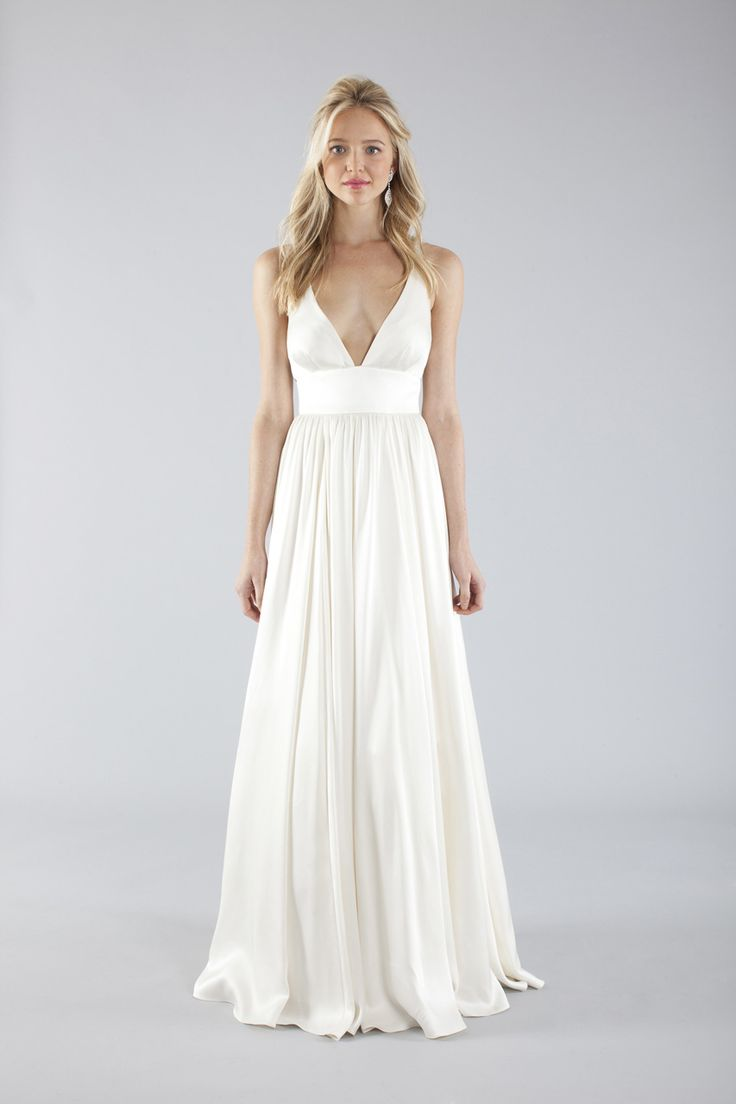 696 best wedding dresses ideas images on pinterest wedding beautiful destination wedding dress love the simplicity and the silhouette ombrellifo Image collections