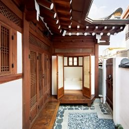 Hanok stay in the the village
