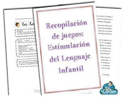 RECURSOS INFANTIL | Recopilación de juegos para estimular el lenguaje en Ed. Infantil ~ La Eduteca