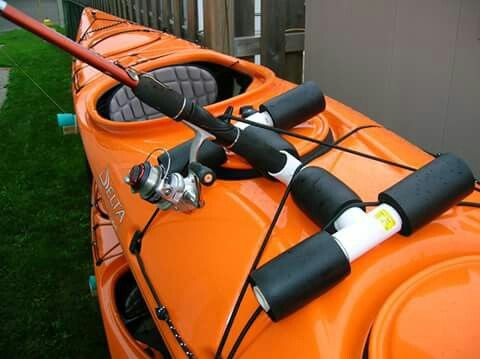 17 best images about rod holders on pinterest fishing for Fishing rod case diy