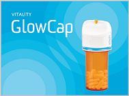 Vitality Glow Caps give you visible signals to remind you its time to take your medication and increase compliance