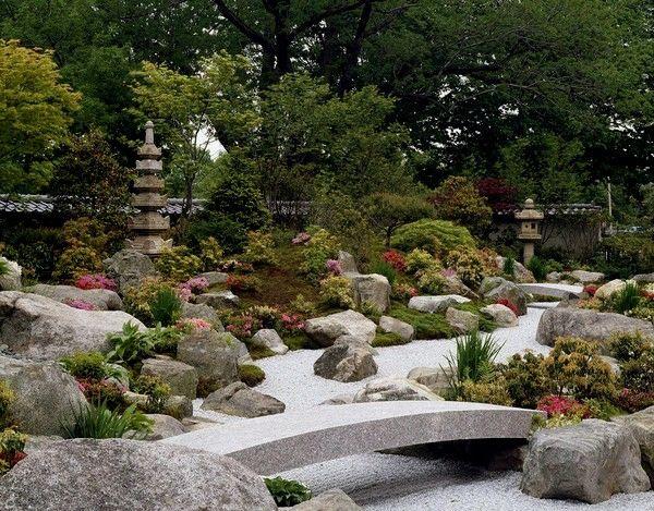 Der japanische Garten u2013 originelle Ideen zur Außendekoration - ideen gestaltung steingarten