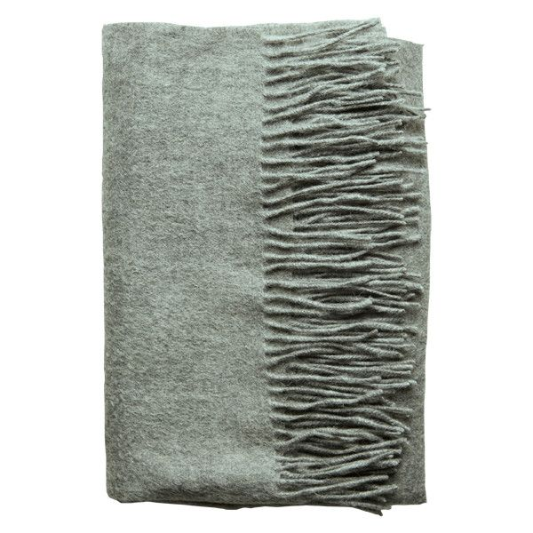 Amazing Amy - Grey Melange Wool/Cashmere Scarf - 95 % Wool / 5 %... (525 SEK) ❤ liked on Polyvore featuring accessories, scarves, gray scarves, wool shawl, wool scarves, grey shawl and cashmere shawl