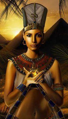 black egyptian goddess - Google Search