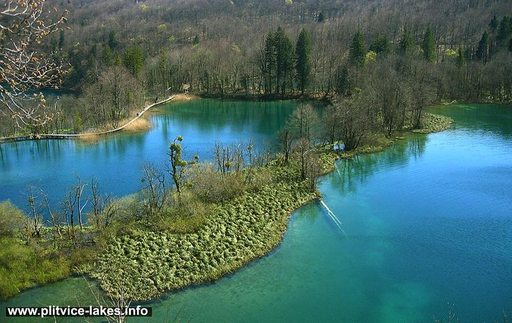 Okrugljak jezero (Okrugljak Lake)  also known as Okrugljaj and Kruginovac is the third highest lake in the whole lake system, located on attitude of 613 meters above the sea level.
