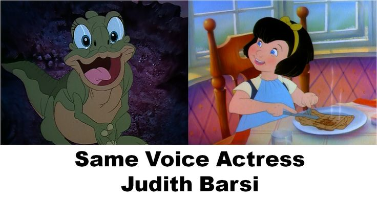 Same Voice Actress - Judith Barsi #Voiceover