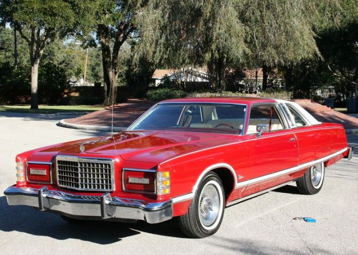 My 1975 Ford LTD was white with a burgundy partial vinyl top and burgundy interior. Actually it was a good car ... & 756 best Ford images on Pinterest | Car Cool cars and Dream cars markmcfarlin.com