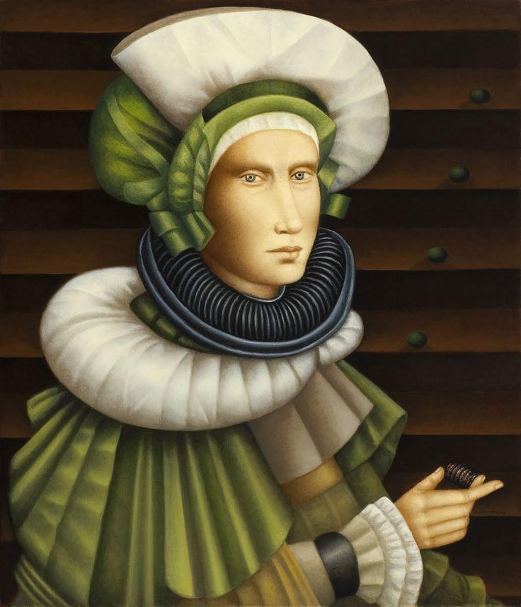 Pintura de Carmen Aldunate.