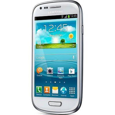 SAMSUNG GALAXY S3 III MINI I8200 white 8GB 3G UMTS SMARTPHONE HANDY OHNE VERTRAG