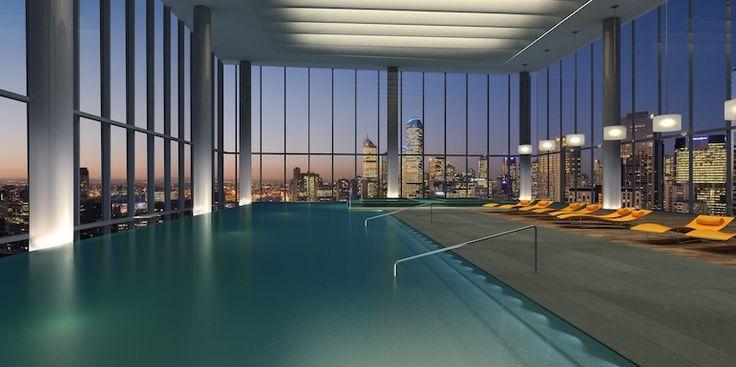 Мельбурн (Австралия) Краун Метрополь плавательный бассейн
