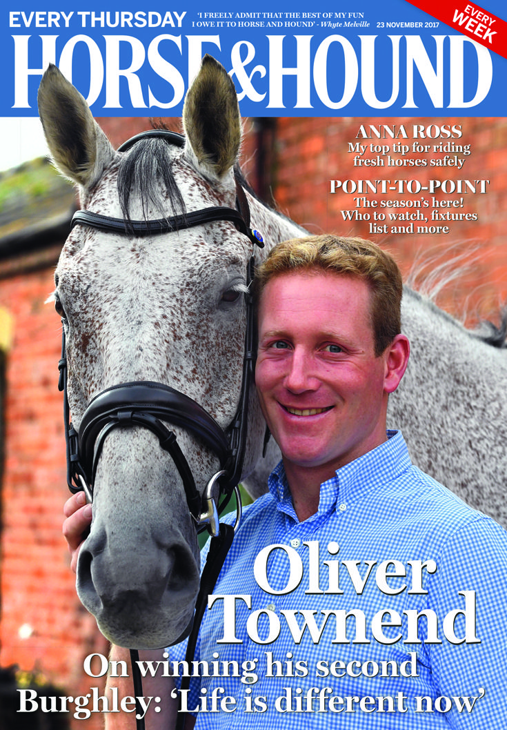 Check out what's in this week's issue of Horse & Hound (23 November) — on sale now!