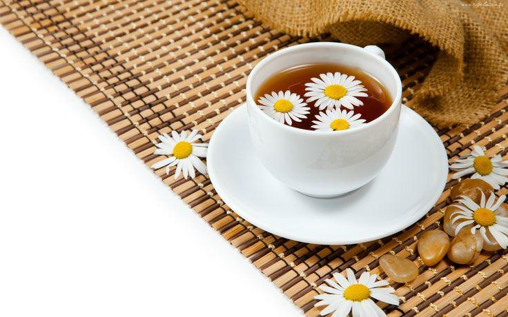 Herbata, Rumiankowa, Kwiatki, Mata, Kamyki